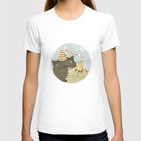birthday T-shirts featuring Birthday Party by Judith Loske