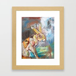 Runner Framed Art Print