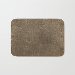 Rustic Tree Bark Pattern Bath Mat