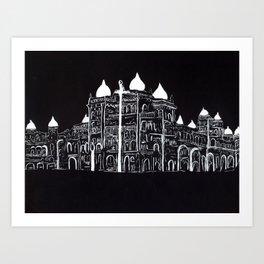 Mysore Palace India Art Print