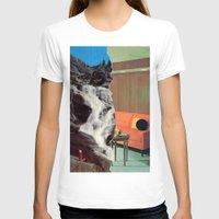outdoor T-shirts featuring Indoor/Outdoor by Tyler Hewitt