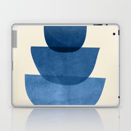 Abstract Shapes 37-Blue Laptop & iPad Skin