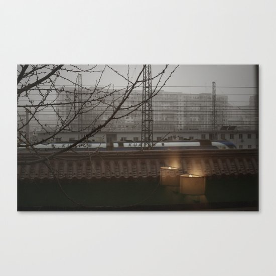 Morning Line Canvas Print