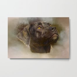 I Love My Perro de Presa Canario Metal Print