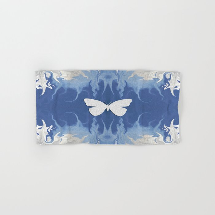 Floating through the Blue Haze... Hand & Bath Towel