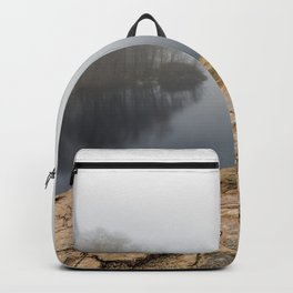 Foggy reflections Backpack