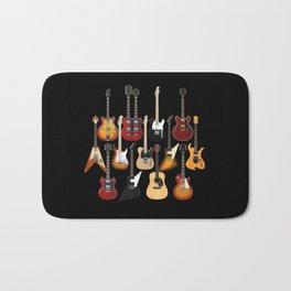 Too Many Guitars! Bath Mat