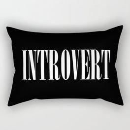 Introvert Rectangular Pillow