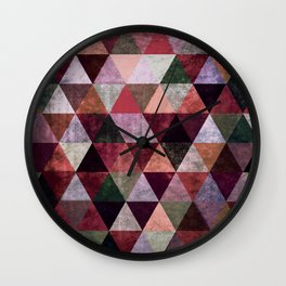 Abstract #380 Wall Clock