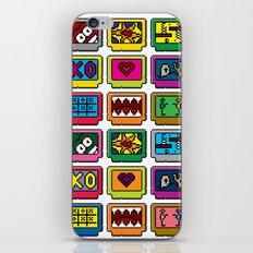 8-bit Game Cartridges iPhone & iPod Skin