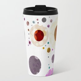 Modern Soft palette Dot Pattern Travel Mug