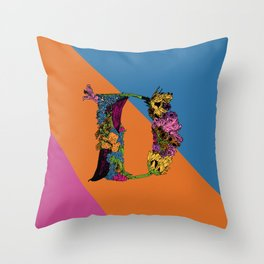 D Is For Danielle.. Throw Pillow