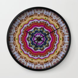 Woodstock Pattern kinda Wall Clock