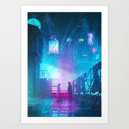 BLADE RUNNER Painting Poster | PRINTS | Blade Runner 2049 | #M6 Art Print