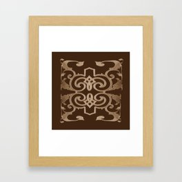 J'aime le chocolat, I love chocolate Framed Art Print
