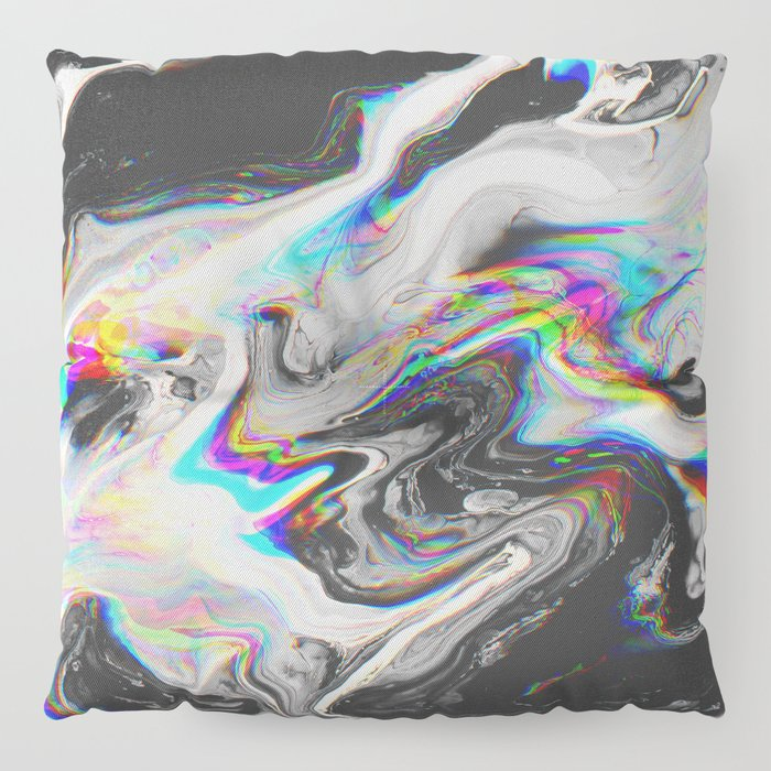 CONFUSION IN HER EYES THAT SAYS IT ALL Floor Pillow