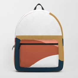 Mid Century Modern Sunset Nº1 Backpack