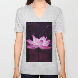magical lotus Unisex V-Neck