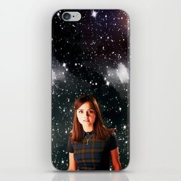 She Walked the Universe  iPhone Skin