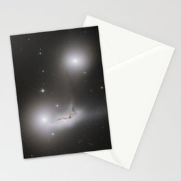 Colliding Galaxies Stationery Cards