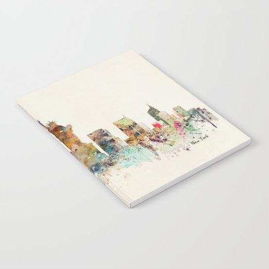 new york city skyline by bribuckley
