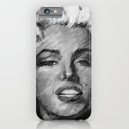Goddess Marilyn 1a by Kathy Morton Stanion iPhone Case