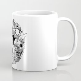 Earth with Art Coffee Mug