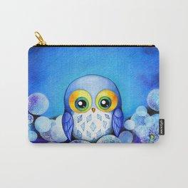 Lunar Owl in Dandelion Field Carry-All Pouch