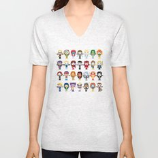 WOMEN WITH 'M' POWER Unisex V-Neck