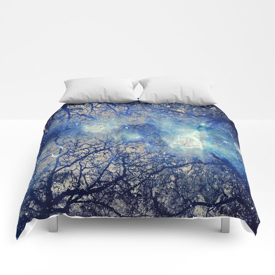 Winter Wood Comforters