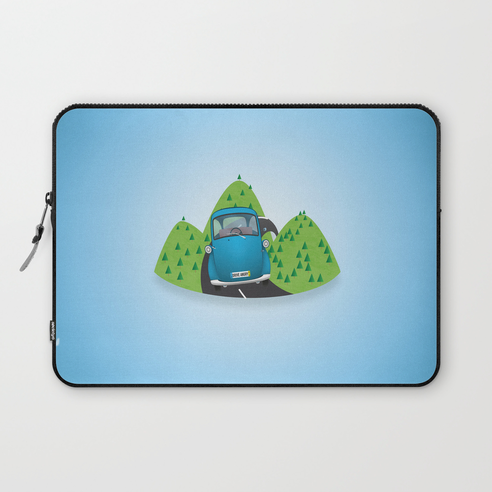 Drive Angry Laptop Sleeve LSV858232