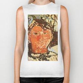 """Amedeo Modigliani """"Portrait of Pablo Picasso"""" Biker Tank"""