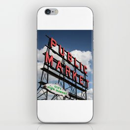 Pike Place Market iPhone Skin