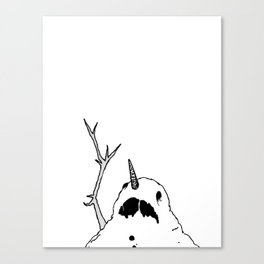 Do You Smell Carrots? Canvas Print