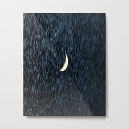 Rain by Moolight Metal Print