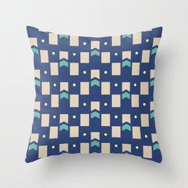 Art Deco Geometric Pattern 272 Throw Pillow