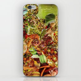 Food Collage 5 iPhone Skin