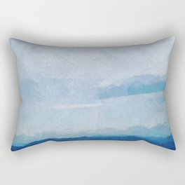 Glorious Majestic Mountains Rectangular Pillow