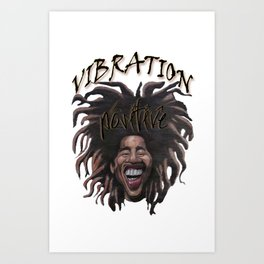 Vibration Positive Art Print