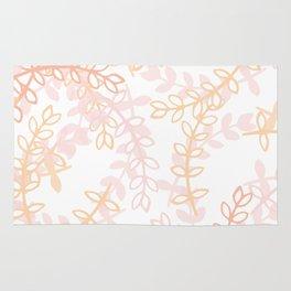 Kay - Blush and Pink Floral Print Rug