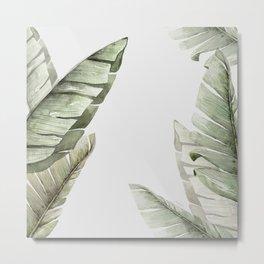 Banana Leaf I Metal Print