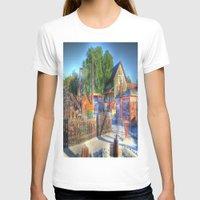 western T-shirts featuring Western Yard by Christine Workman
