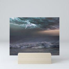 Sea Storm Mini Art Print