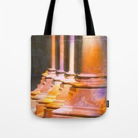 stone Tote Bags featuring stone by Tereza Del Pilar