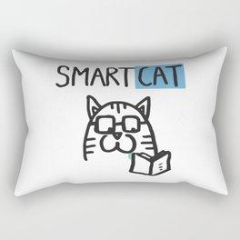 Smart cat Rectangular Pillow