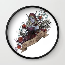Queen of the Forsaken Wall Clock