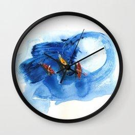 Kayaks i Wall Clock