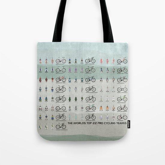 Pro Cycling Teams Tote Bag