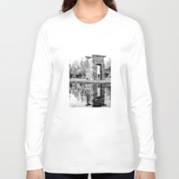 madrid Long Sleeve T-shirts featuring Madrid reflections by PabloEgM