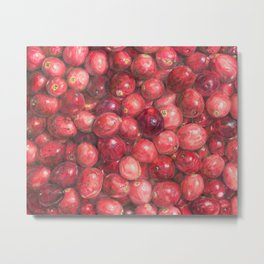 Cranberries Metal Print